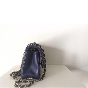 8b76ab804883 CHANEL Bags | On Hold Violet Chevron Newmini Classic Flap | Poshmark